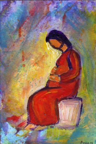 Annnonciation - Le Seigneur avec toi Lc 1 46-56